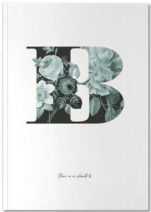 Flower Alphabet - B
