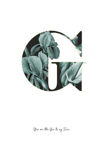 Flower Alphabet - G