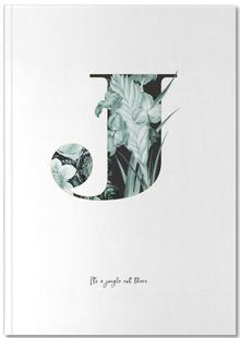 Flower Alphabet - J