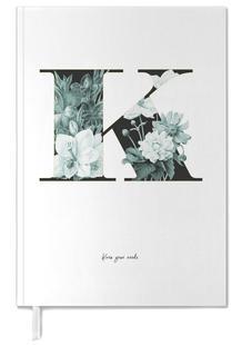 Flower Alphabet - K