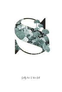 Flower Alphabet - S