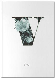 Flower Alphabet - V