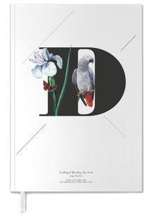 Botanical Alphabet - D