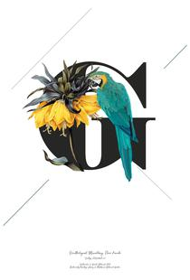 Botanical Alphabet - G