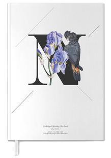 Botanical Alphabet - N