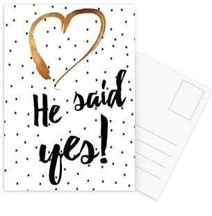 He Said Yes