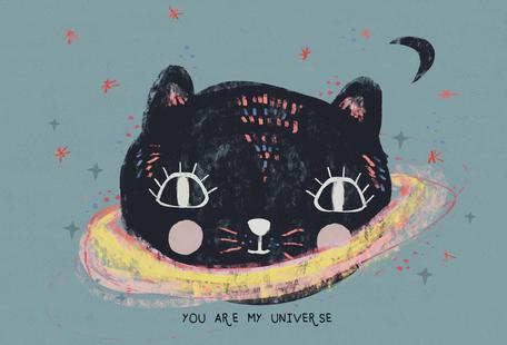 You Are My Universe Blau