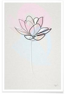 One Line Lotus