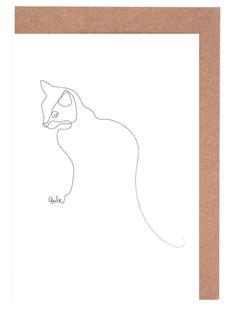 One Line Cat