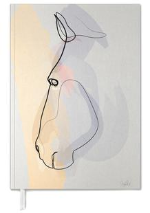 One Line Horse 1711