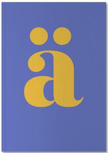 Blue Letter ä