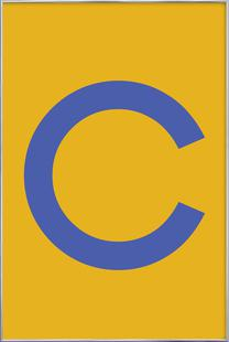 Yellow Letter C