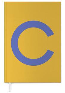 Yellow Letter C