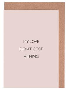 My Love Don't Cost a Thing