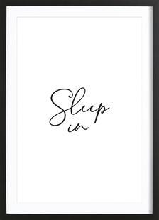 Sleep in - White