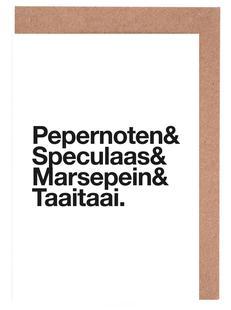 Pepernoten & Taaitaai