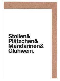 Stollen & Glühwein