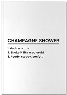 Champagne Shower Recipe