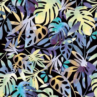 Jungle Leaves Dark