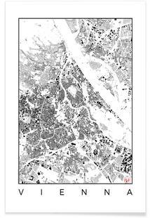Vienna Map Schwarzplan