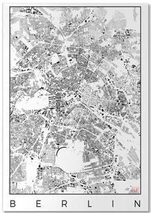 Berlin Map Schwarzplan