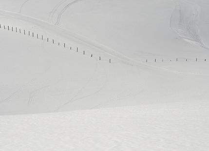 Lines in the Snow