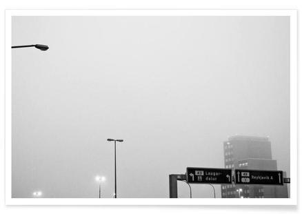 Reykjavík in the mist
