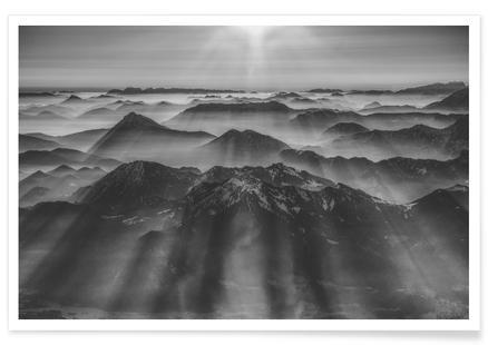 Balloon Ride over the Alps 1