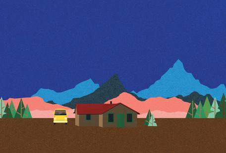 Sierra Nevada Mountain Hut