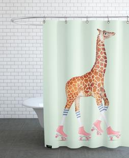 Rollerskating Giraffe