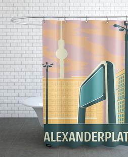 Berlin Alexanderplatz Sonnenuntergang