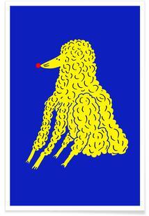 Poodle Yellow