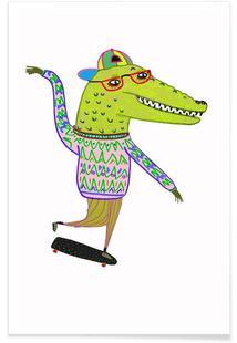 Crocodile Skater
