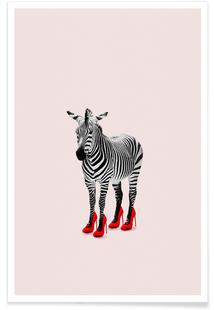 Zebra Heels