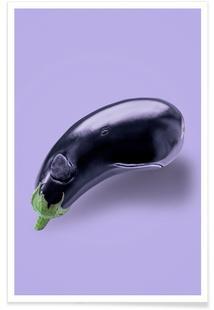 Eggplant Whale