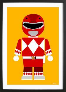 Power Ranger Toy Red