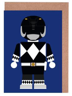 Power Ranger Toy Black