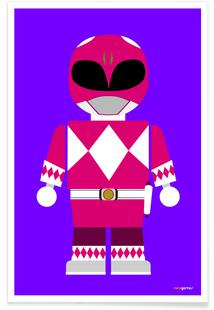 Power Ranger Toy Pink