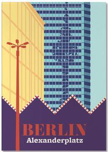 Berlin Alexanderplatz Markt