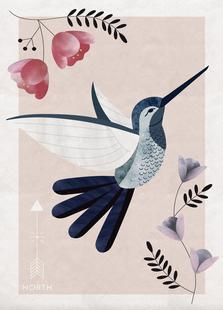 Spirit Animal - Hummingbird
