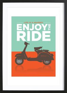 Enjoy the ride - Vespa