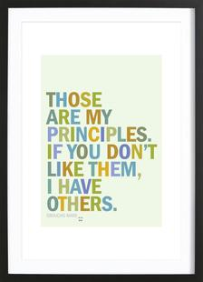Groucho Principles