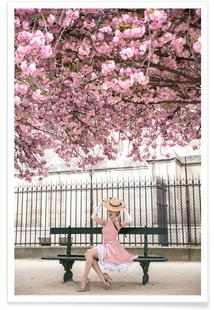 Lady at the Cherry Blossom