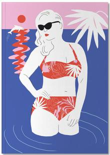 Hot Hot Summer - Lady and Dolphin