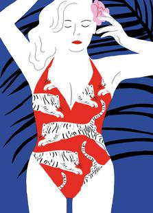 Hot Hot Summer - Lady and Tiger