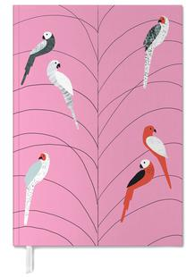 Tropicana - Birds on Branch Pink