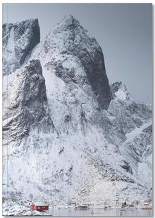 Snow-Capped Peaks by Massimo Zappula