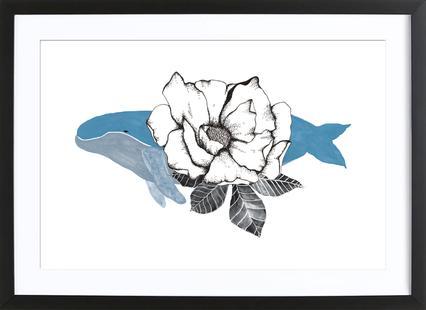 Floral Whale