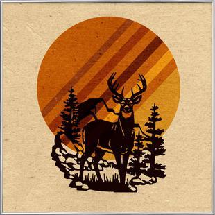 Yellow Stone Deer
