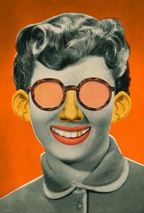 Emotional Portrait Orange